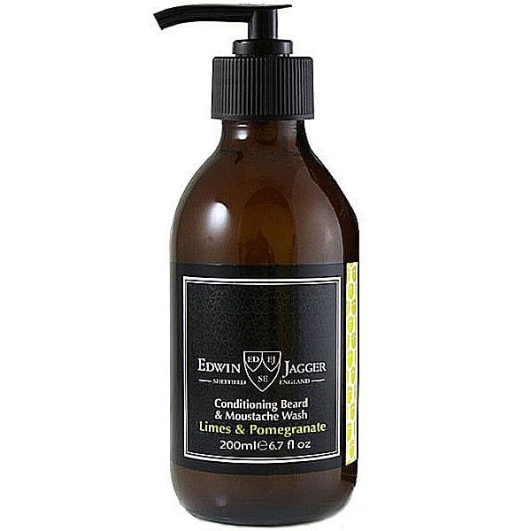 Edwin Jagger Conditioning Beard & Moustache Wash Limes & Pomegranate