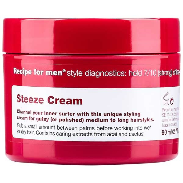 Recipe for men Steeze Cream