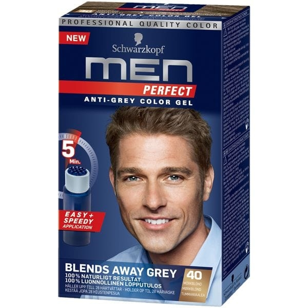 Schwarzkopf Men Perfect 40 Mörkblond