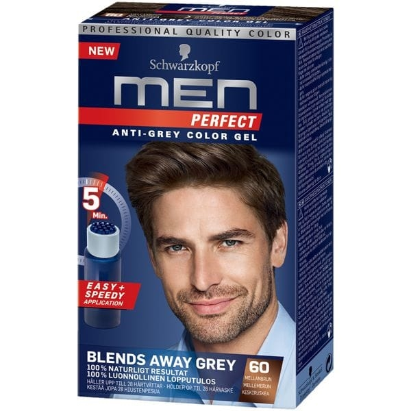 Schwarzkopf Men Perfect 60 Mellanbrun