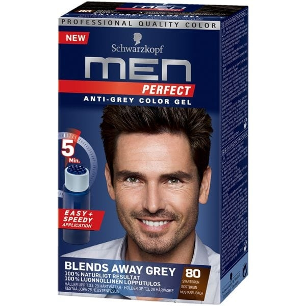 Schwarzkopf Men Perfect 80 Svartbrun