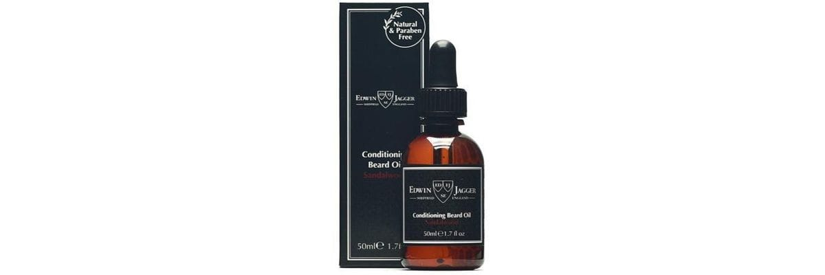 Test av Edwin Jagger Beard Oil Sandalwood