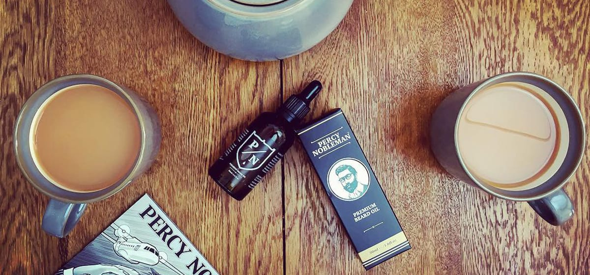 Test av Percy Nobleman Premium Beard Oil