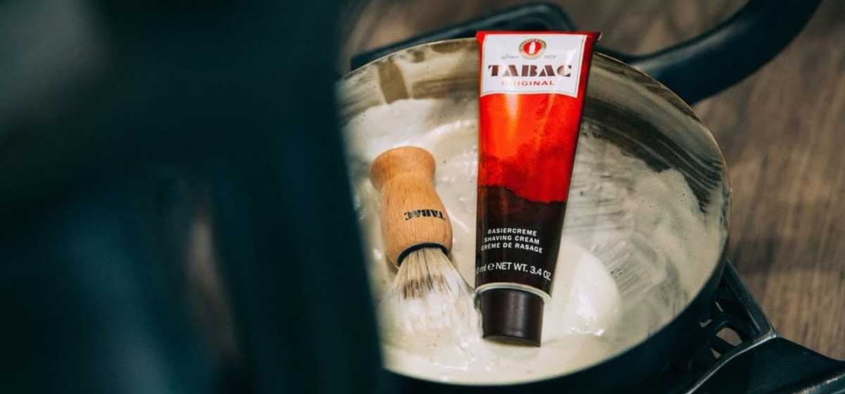 Test av Tabac Original Shaving Cream