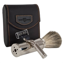 Edwin Jagger Travel Shaving Set Mach3