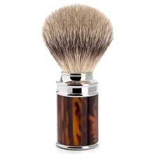 Muhle Silvertip Badger Shaving Brush Tortoiseshell