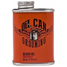 Oil Can Grooming Iron Horse Beard Oil
